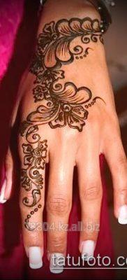 Фото тату рисунки хной (tattoo of henna) (значение) — пример рисунка — 008 tatufoto.com