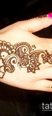 Фото тату рисунки хной (tattoo of henna) (значение) — пример рисунка — 011 tatufoto.com
