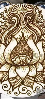 Фото тату рисунки хной (tattoo of henna) (значение) – пример рисунка – 013 tatufoto.com