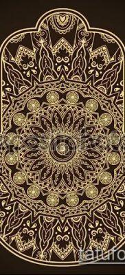 Фото тату рисунки хной (tattoo of henna) (значение) — пример рисунка — 015 tatufoto.com