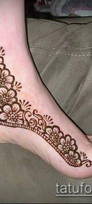 Фото тату рисунки хной (tattoo of henna) (значение) — пример рисунка — 017 tatufoto.com