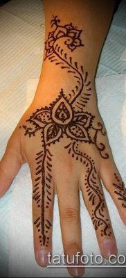 Фото тату рисунки хной (tattoo of henna) (значение) – пример рисунка – 019 tatufoto.com
