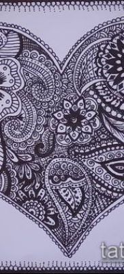 Фото тату рисунки хной (tattoo of henna) (значение) — пример рисунка — 020 tatufoto.com