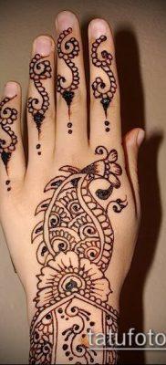 Фото тату рисунки хной (tattoo of henna) (значение) — пример рисунка — 022 tatufoto.com