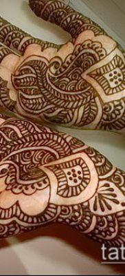 Фото тату рисунки хной (tattoo of henna) (значение) — пример рисунка — 026 tatufoto.com