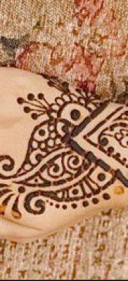Фото тату рисунки хной (tattoo of henna) (значение) — пример рисунка — 027 tatufoto.com