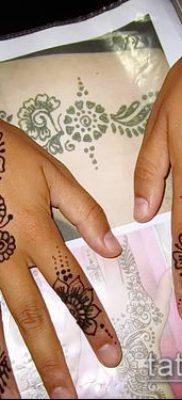 Фото тату рисунки хной (tattoo of henna) (значение) — пример рисунка — 031 tatufoto.com