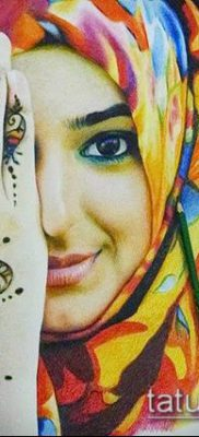 Фото тату рисунки хной (tattoo of henna) (значение) — пример рисунка — 033 tatufoto.com
