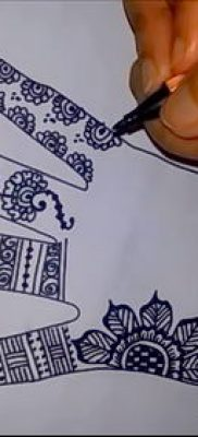 Фото тату рисунки хной (tattoo of henna) (значение) – пример рисунка – 037 tatufoto.com
