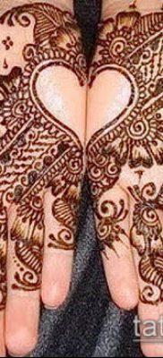 Фото тату рисунки хной (tattoo of henna) (значение) – пример рисунка – 039 tatufoto.com