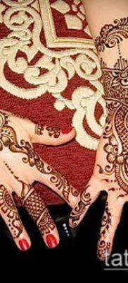 Фото тату рисунки хной (tattoo of henna) (значение) — пример рисунка — 040 tatufoto.com