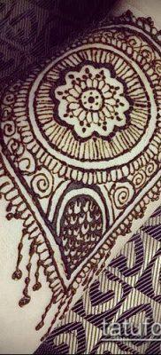 Фото тату рисунки хной (tattoo of henna) (значение) — пример рисунка — 043 tatufoto.com