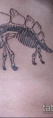 Фото тату скелет рыбы – пример рисунка – 30052017 – пример – 005 Fish skeleton tattoo