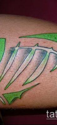 Фото тату скелет рыбы – пример рисунка – 30052017 – пример – 007 Fish skeleton tattoo