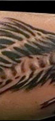 Фото тату скелет рыбы – пример рисунка – 30052017 – пример – 036 Fish skeleton tattoo