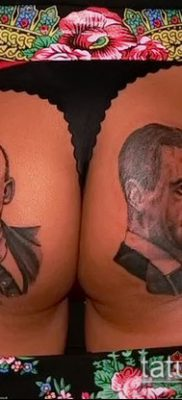 Фото тату сталин – 20052017 – пример – 002 Stalin tattoo