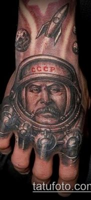 Фото тату сталин – 20052017 – пример – 005 Stalin tattoo