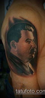 Фото тату сталин – 20052017 – пример – 007 Stalin tattoo