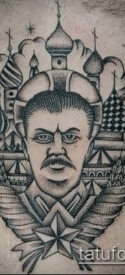 Фото тату сталин – 20052017 – пример – 010 Stalin tattoo