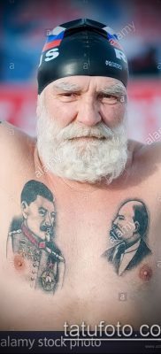 Фото тату сталин – 20052017 – пример – 018 Stalin tattoo