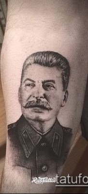 Фото тату сталин – 20052017 – пример – 023 Stalin tattoo