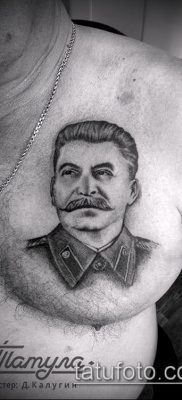 Фото тату сталин – 20052017 – пример – 025 Stalin tattoo