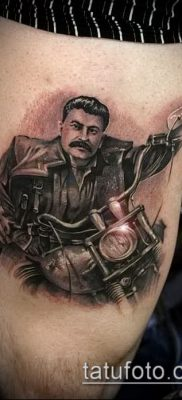 Фото тату сталин – 20052017 – пример – 028 Stalin tattoo