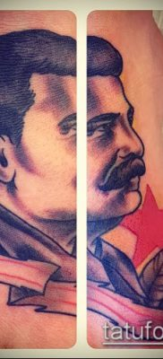Фото тату сталин – 20052017 – пример – 030 Stalin tattoo