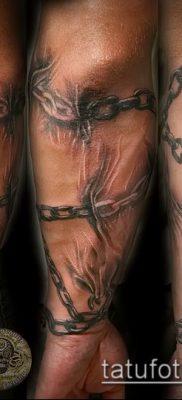 Фото тату цепь – пример рисунка – 30052017 – пример – 006 Tattoo chain