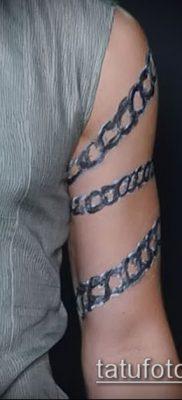 Фото тату цепь – пример рисунка – 30052017 – пример – 009 Tattoo chain