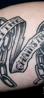 Фото тату цепь – пример рисунка – 30052017 – пример – 010 Tattoo chain