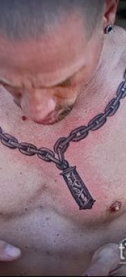 Фото тату цепь – пример рисунка – 30052017 – пример – 033 Tattoo chain