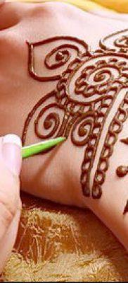 Фото уход за менди (tattoo of henna) (значение) – пример рисунка – 003 tatufoto.com