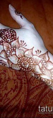 Фото уход за менди (tattoo of henna) (значение) – пример рисунка – 004 tatufoto.com