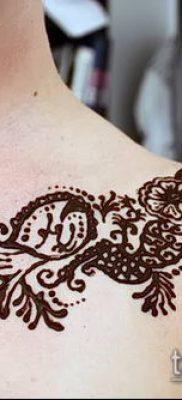 Фото уход за менди (tattoo of henna) (значение) – пример рисунка – 007 tatufoto.com