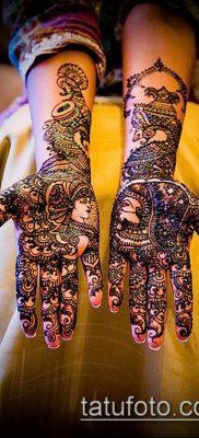 Фото уход за менди (tattoo of henna) (значение) – пример рисунка – 010 tatufoto.com