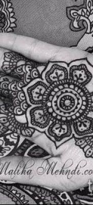 Фото уход за менди (tattoo of henna) (значение) – пример рисунка – 011 tatufoto.com