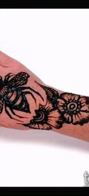 Фото уход за менди (tattoo of henna) (значение) – пример рисунка – 012 tatufoto.com