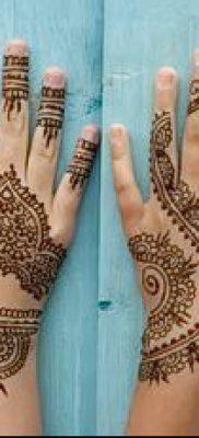 Фото уход за менди (tattoo of henna) (значение) – пример рисунка – 013 tatufoto.com