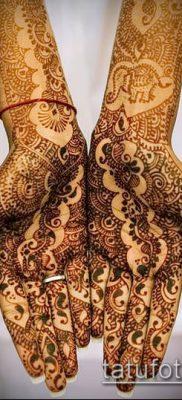 Фото уход за менди (tattoo of henna) (значение) – пример рисунка – 018 tatufoto.com