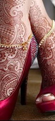 Фото уход за менди (tattoo of henna) (значение) – пример рисунка – 021 tatufoto.com