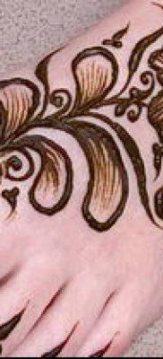 Фото уход за менди (tattoo of henna) (значение) – пример рисунка – 022 tatufoto.com