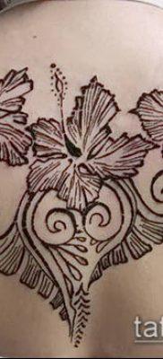 Фото уход за менди (tattoo of henna) (значение) – пример рисунка – 026 tatufoto.com