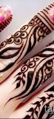 Фото уход за менди (tattoo of henna) (значение) – пример рисунка – 028 tatufoto.com