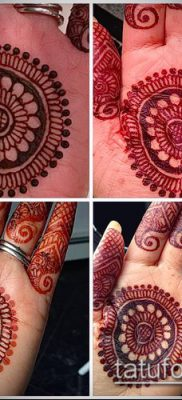 Фото уход за менди (tattoo of henna) (значение) – пример рисунка – 035 tatufoto.com