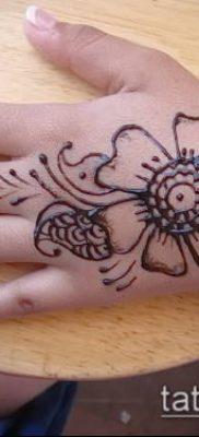 Фото уход за менди (tattoo of henna) (значение) – пример рисунка – 036 tatufoto.com