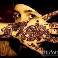 Фото уход за менди (tattoo of henna) (значение) - пример рисунка - 038 tatufoto.com