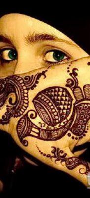 Фото уход за менди (tattoo of henna) (значение) – пример рисунка – 038 tatufoto.com