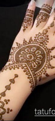 Фото уход за менди (tattoo of henna) (значение) – пример рисунка – 040 tatufoto.com