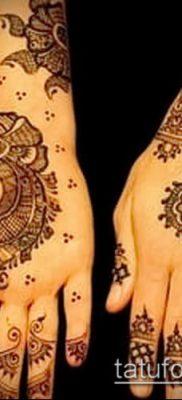 Фото уход за менди (tattoo of henna) (значение) – пример рисунка – 041 tatufoto.com